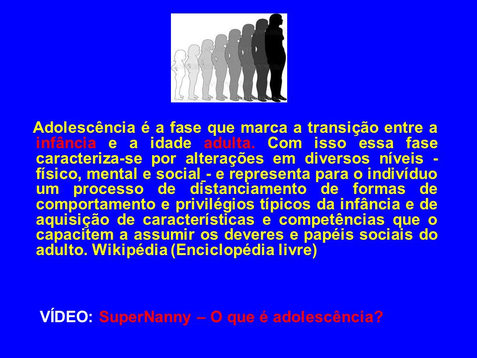VÍDEO: SuperNanny – O que é adolescência