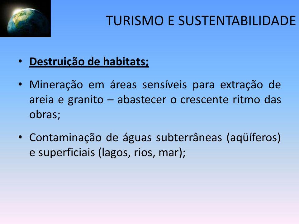 TURISMO E SUSTENTABILIDADE