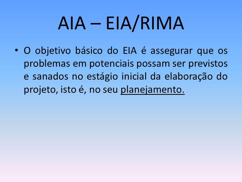 AIA – EIA/RIMA