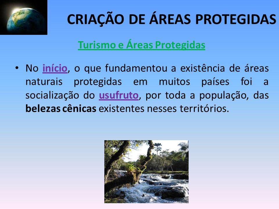 Turismo e Áreas Protegidas