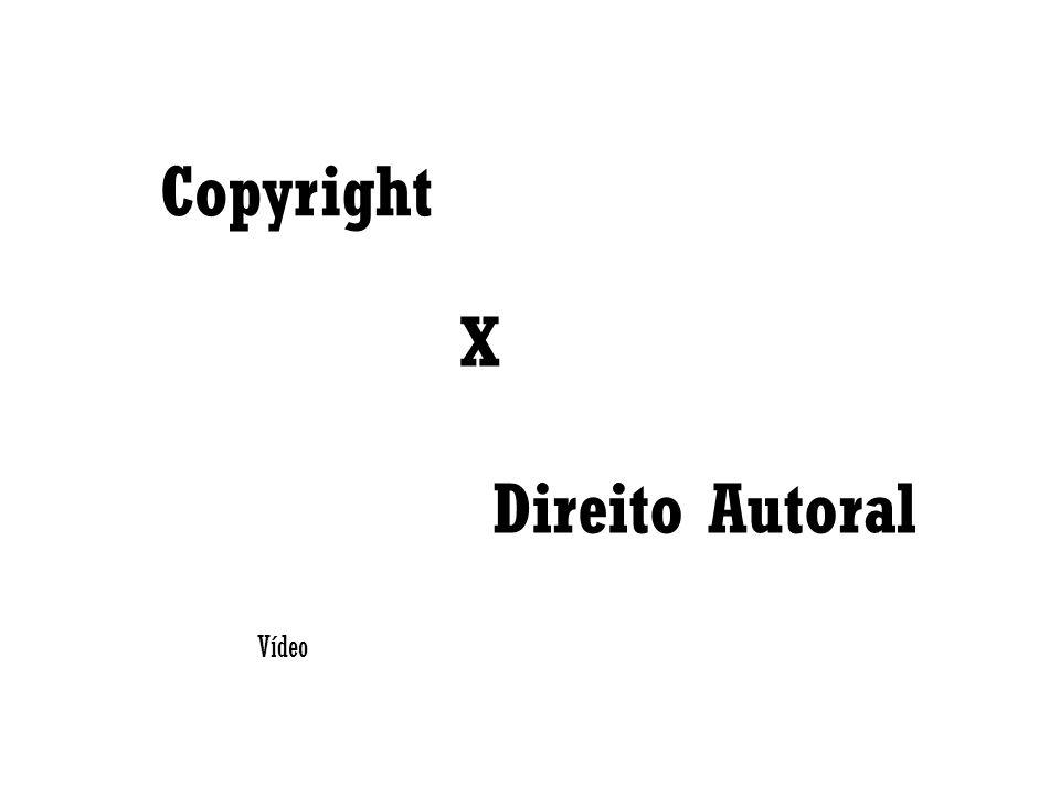 Copyright X Direito Autoral