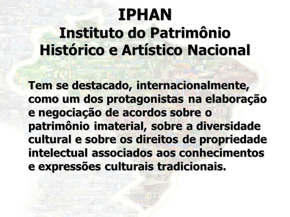 IPHAN Instituto do Patrimônio Histórico e Artístico Nacional