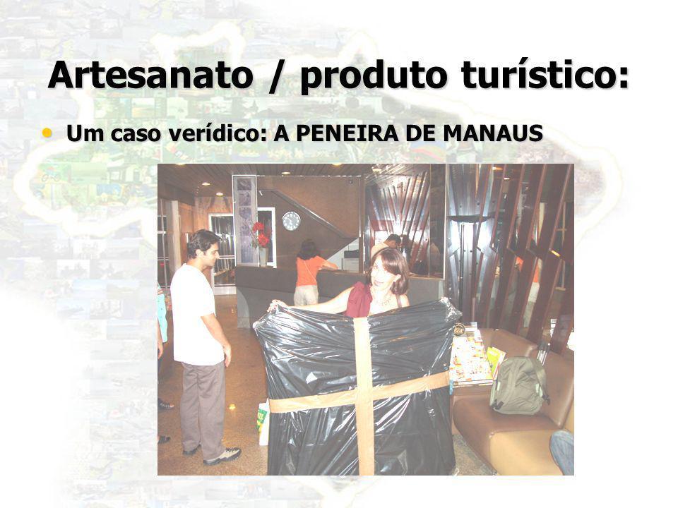Artesanato / produto turístico: