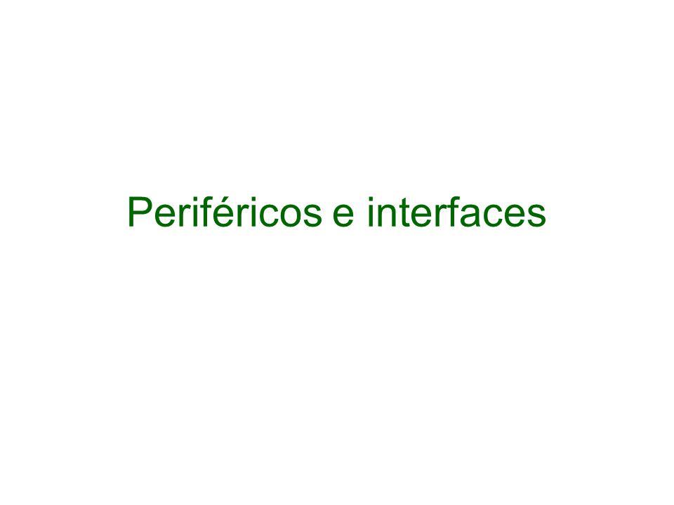 Periféricos e interfaces