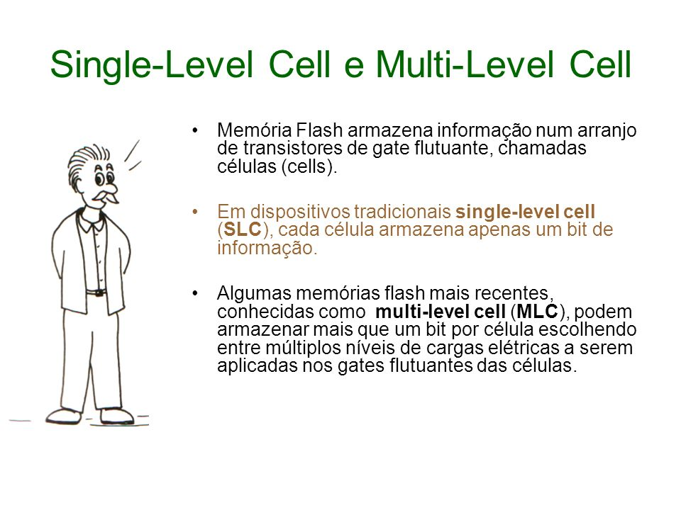 Single-Level Cell e Multi-Level Cell