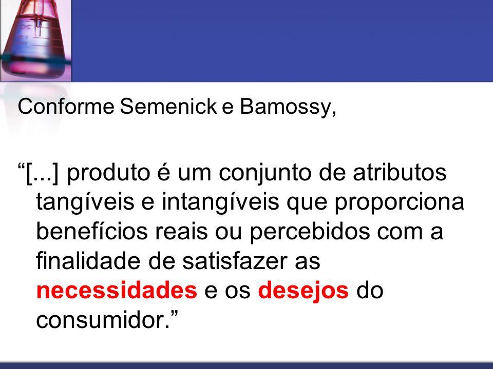 Conforme Semenick e Bamossy,