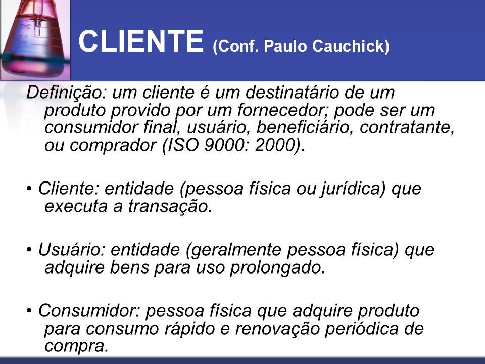 CLIENTE (Conf. Paulo Cauchick)