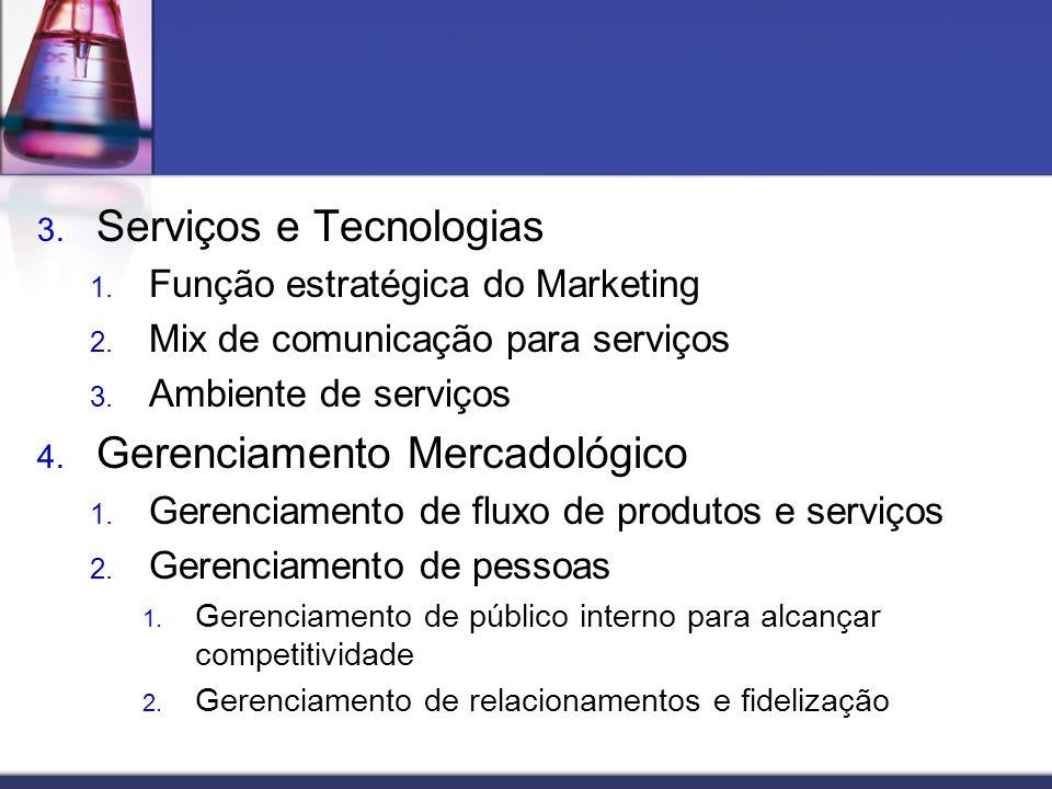 Serviços e Tecnologias