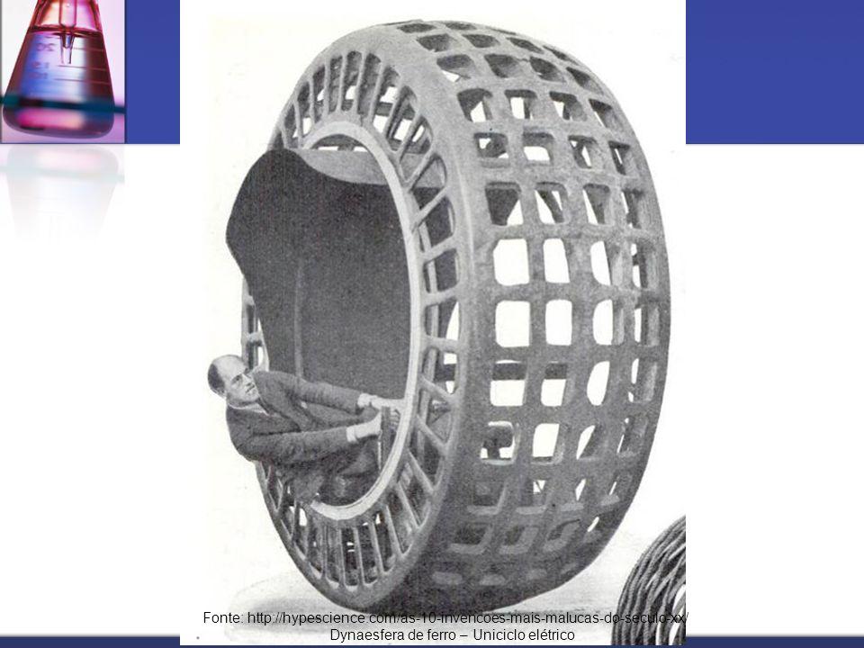 Dynaesfera de ferro – Uniciclo elétrico