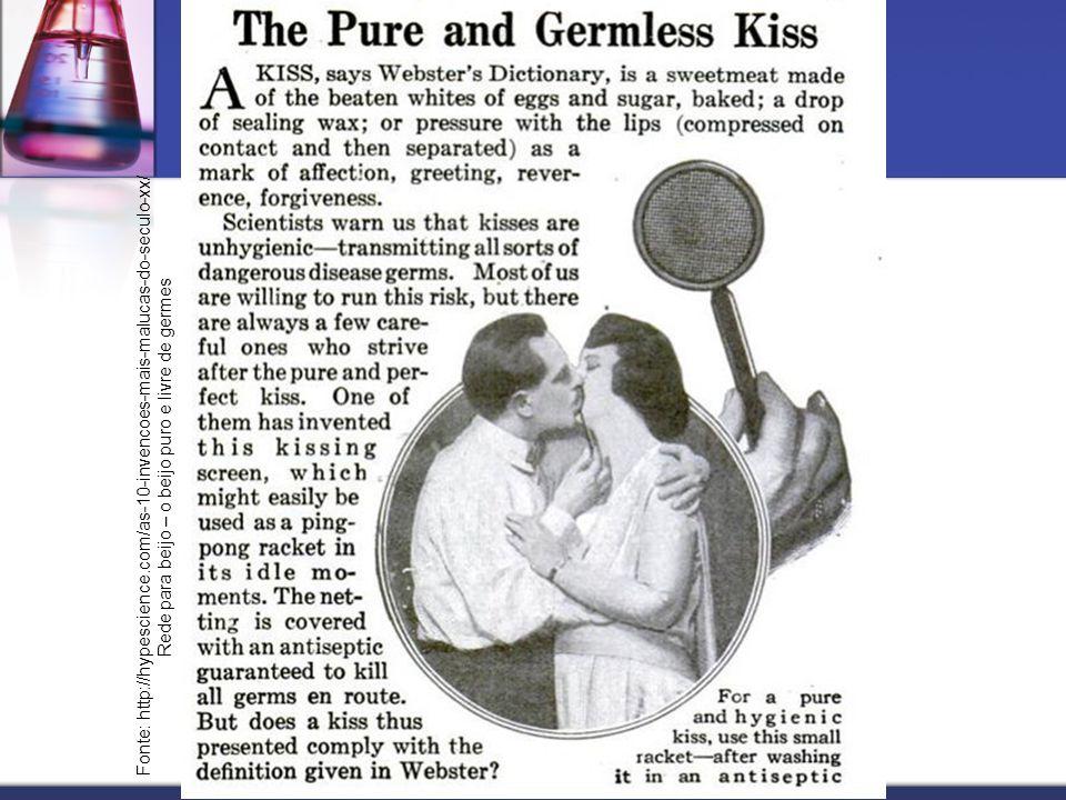 Rede para beijo – o beijo puro e livre de germes
