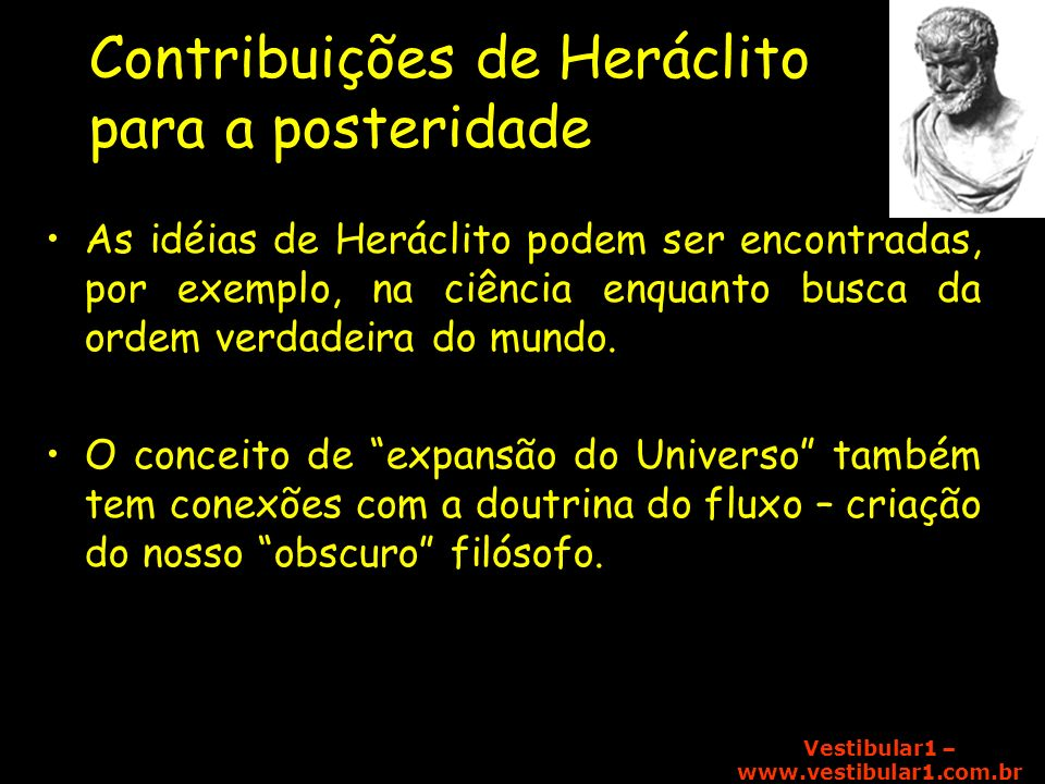 Contribuições de Heráclito para a posteridade