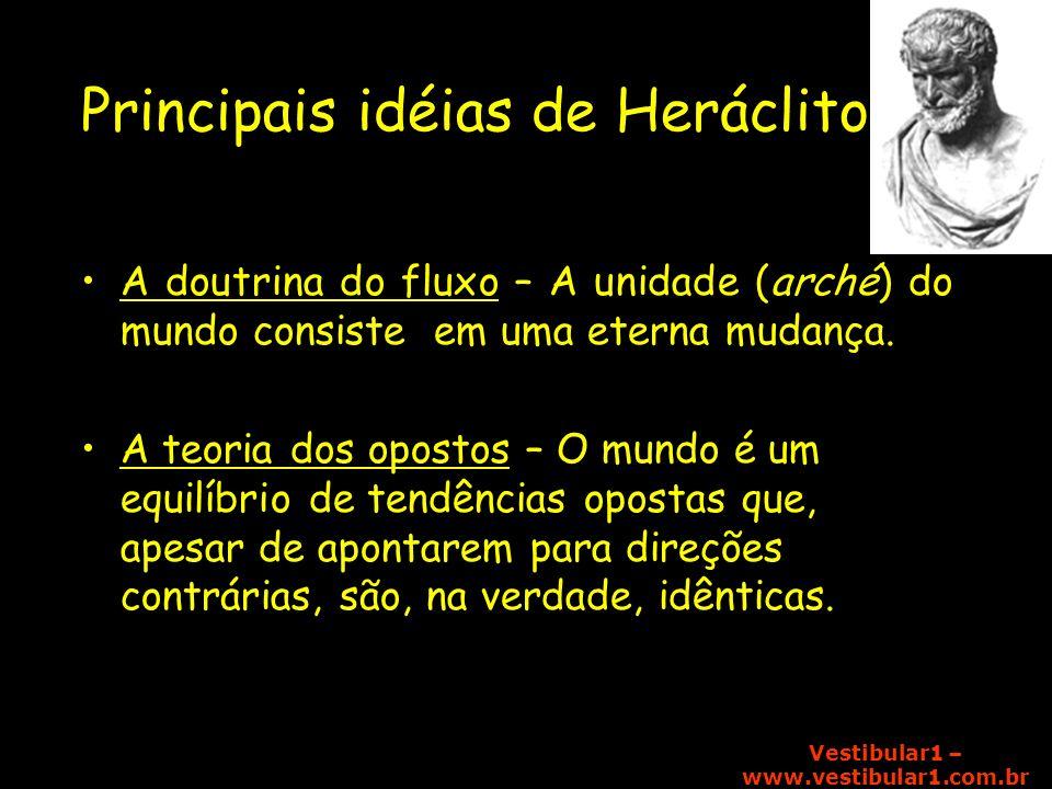 Principais idéias de Heráclito