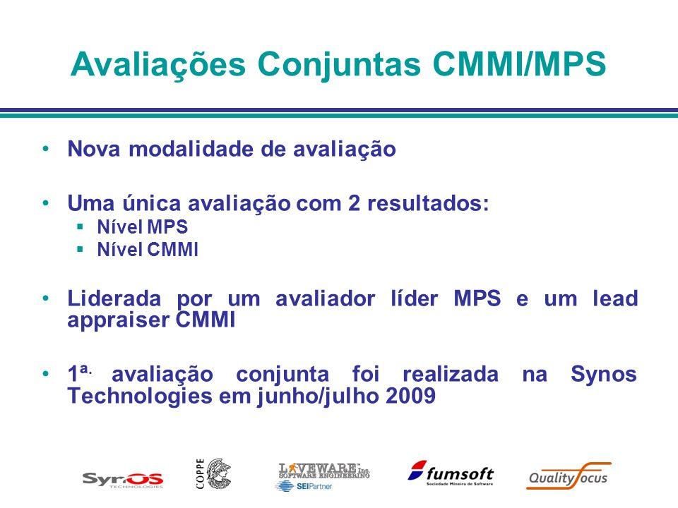 Avaliações Conjuntas CMMI/MPS