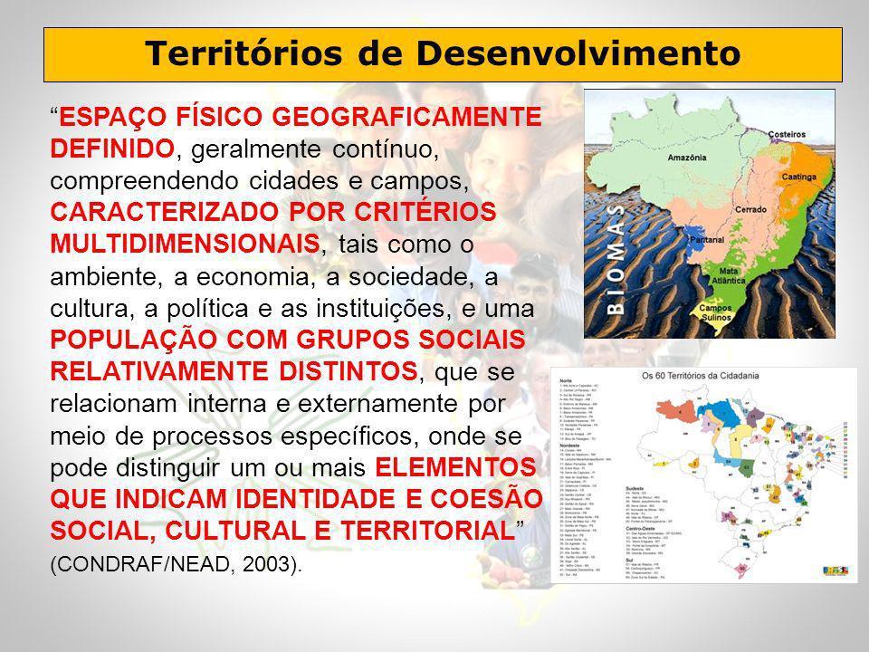 Territórios de Desenvolvimento