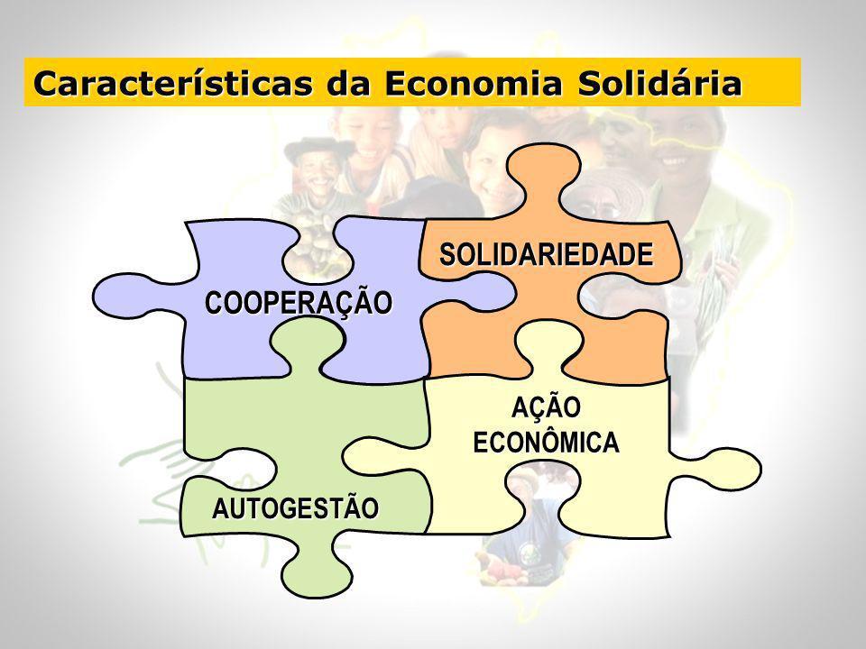 Características da Economia Solidária