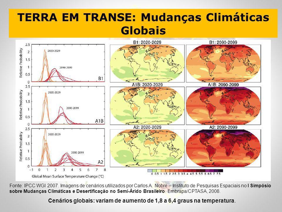 TERRA EM TRANSE: Mudanças Climáticas Globais