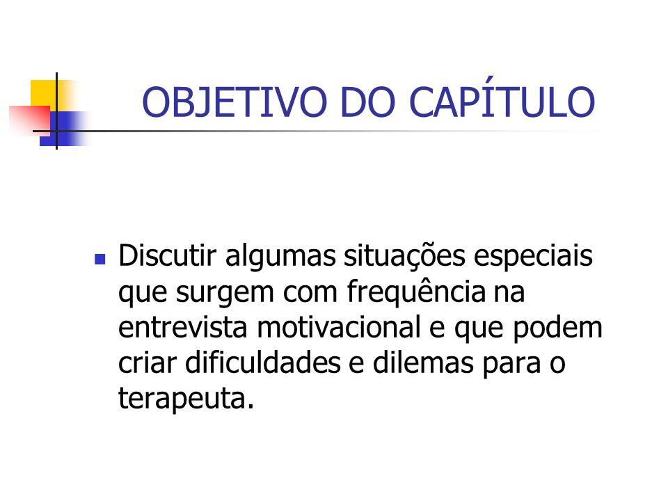 OBJETIVO DO CAPÍTULO