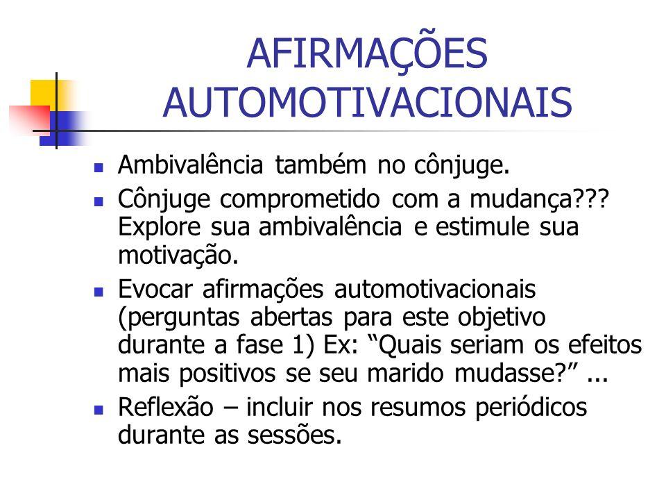 AFIRMAÇÕES AUTOMOTIVACIONAIS