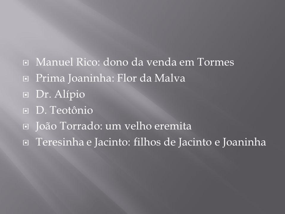 Manuel Rico: dono da venda em Tormes