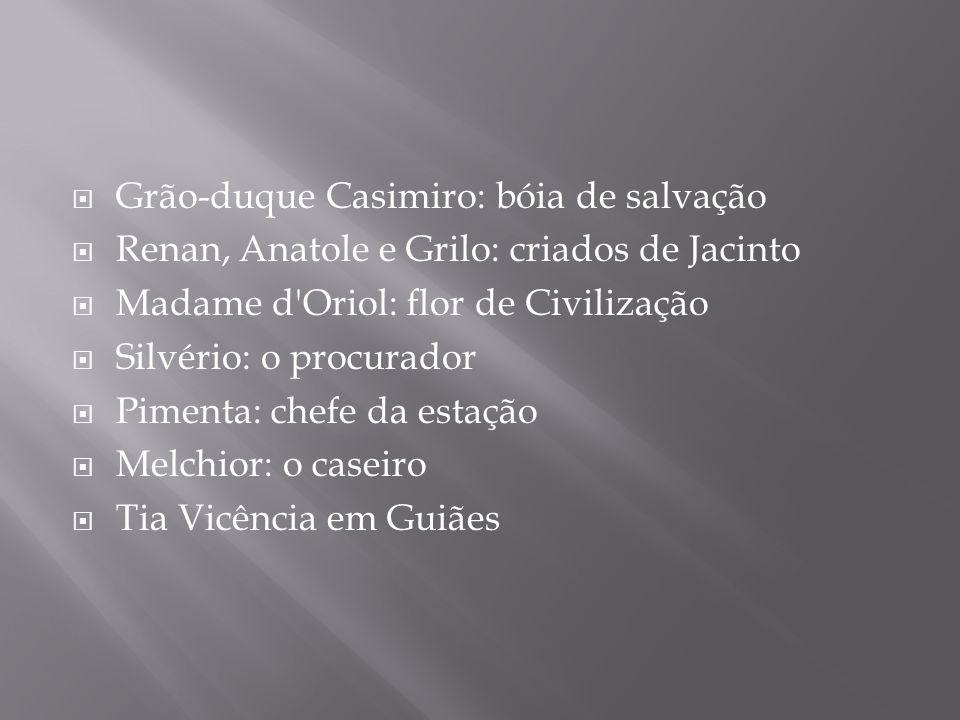 Grão-duque Casimiro: bóia de salvação