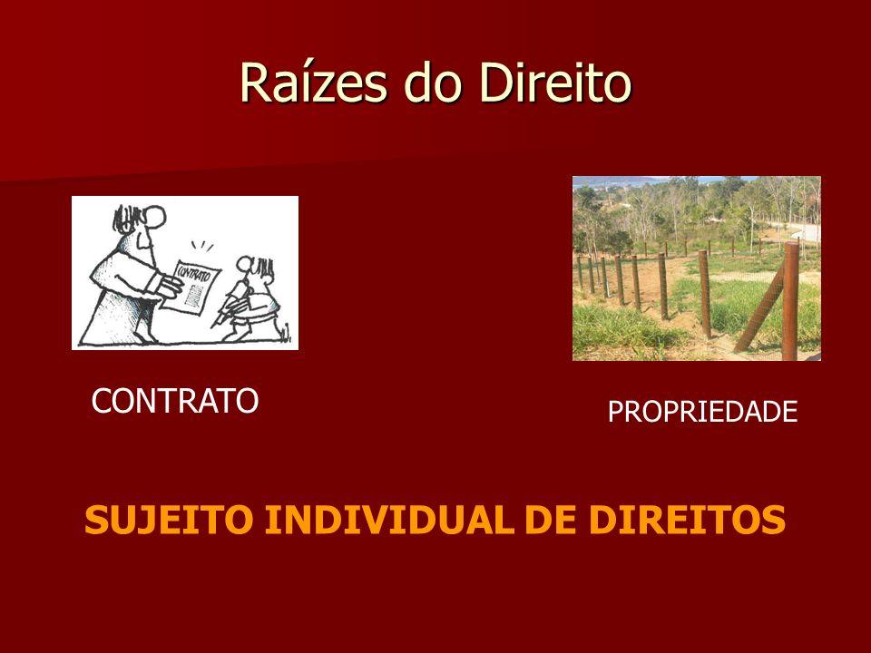 SUJEITO INDIVIDUAL DE DIREITOS