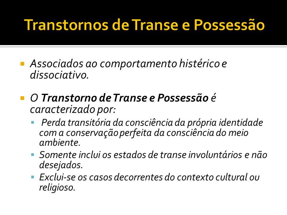 Transtornos de Transe e Possessão