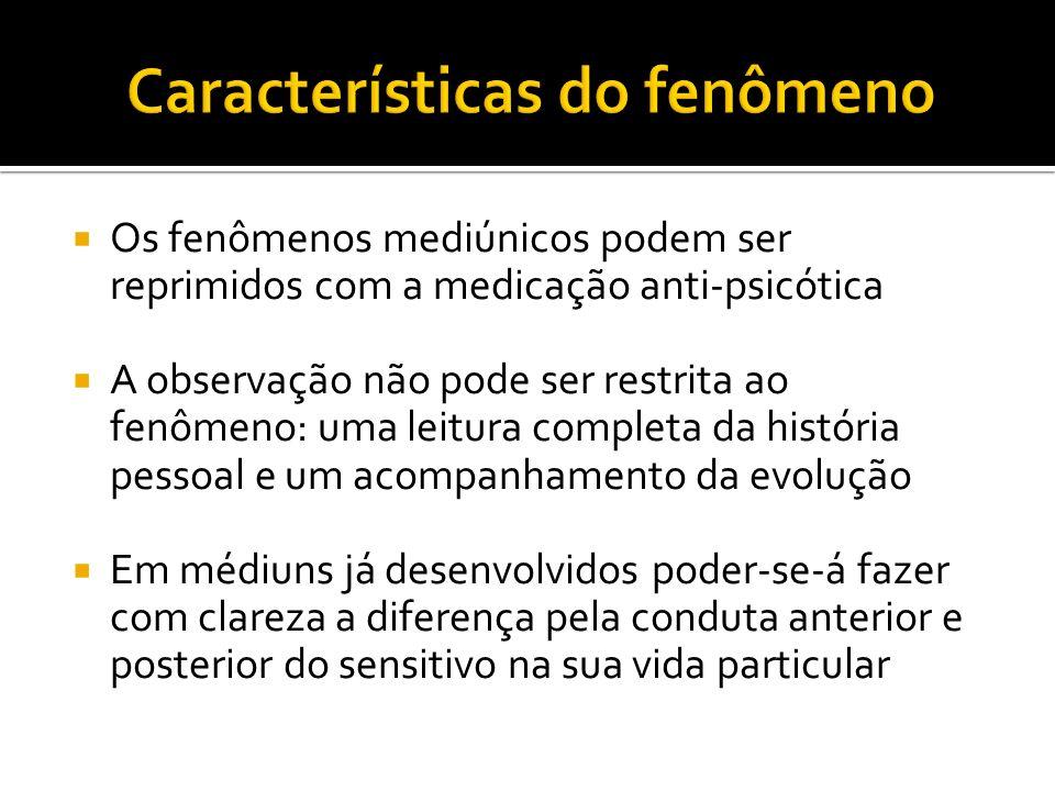 Características do fenômeno