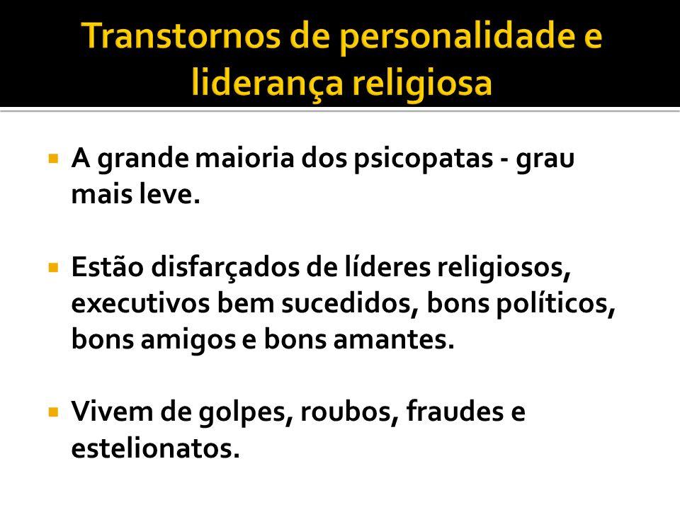 Transtornos de personalidade e liderança religiosa