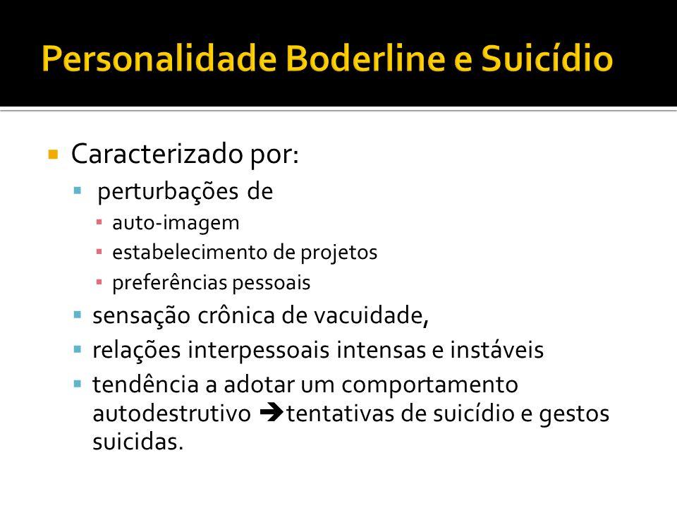 Personalidade Boderline e Suicídio