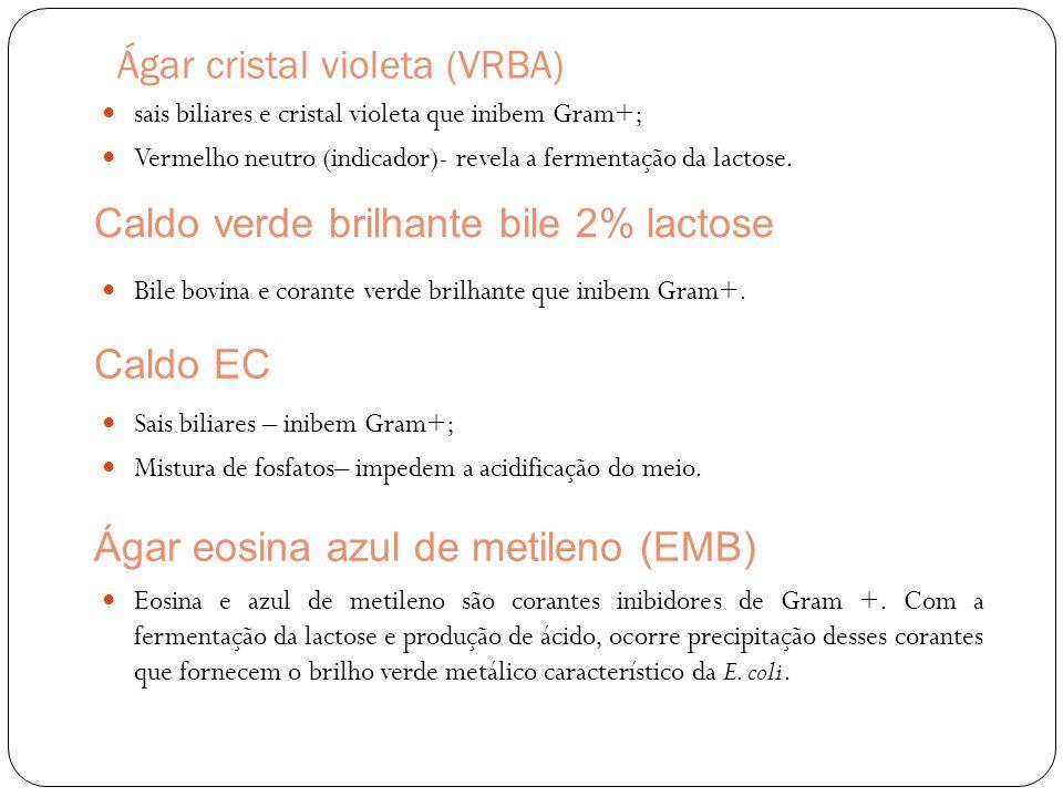 Ágar cristal violeta (VRBA)