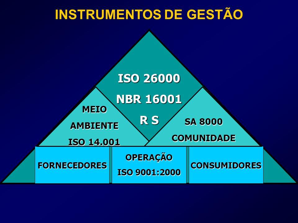 INSTRUMENTOS DE GESTÃO