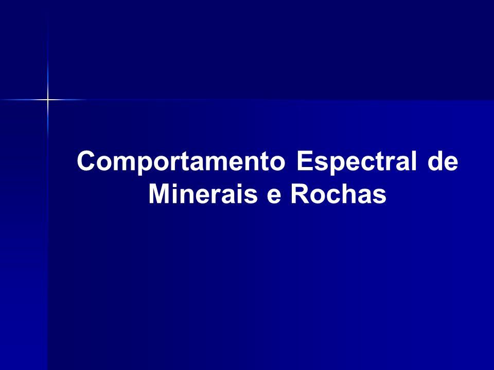 Comportamento Espectral de Minerais e Rochas