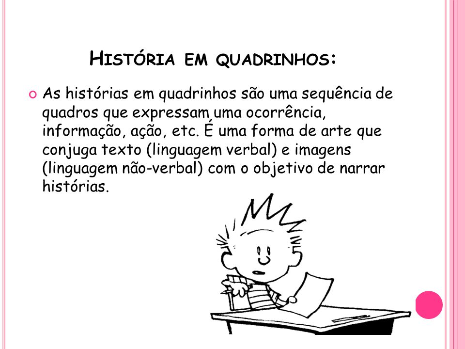 História em quadrinhos: