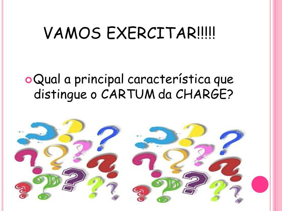 Qual a principal característica que distingue o CARTUM da CHARGE