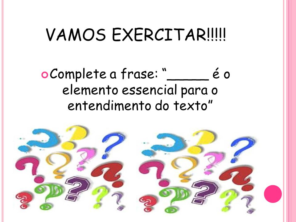 VAMOS EXERCITAR!!!!.