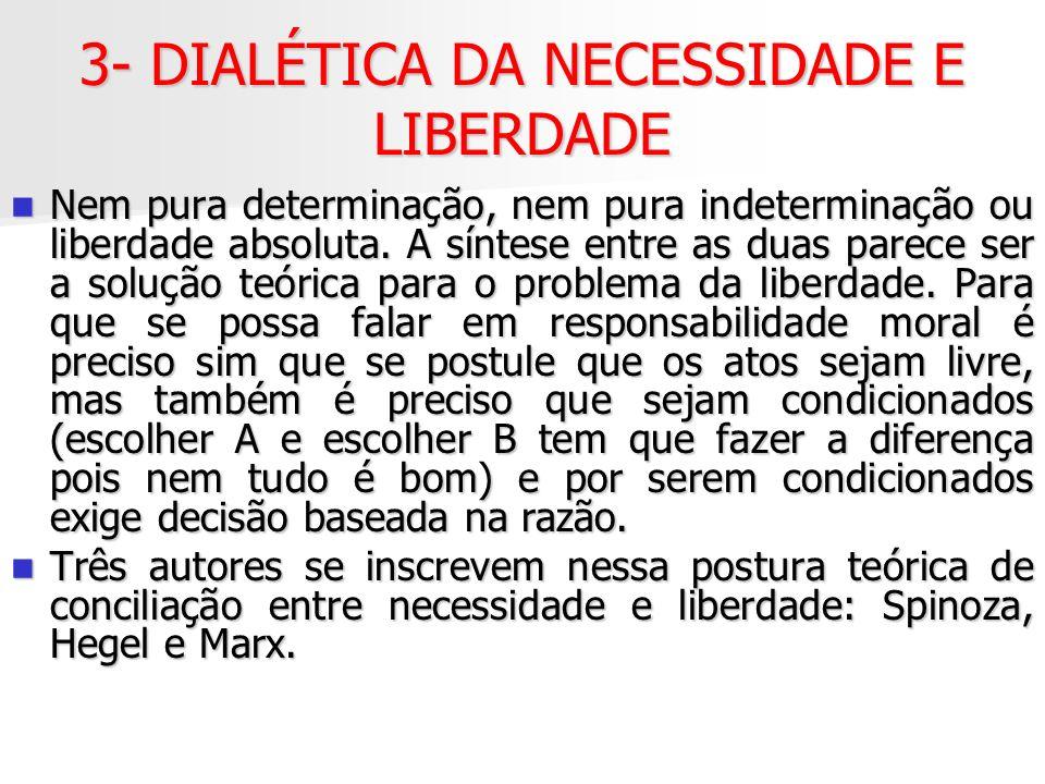 3- DIALÉTICA DA NECESSIDADE E LIBERDADE