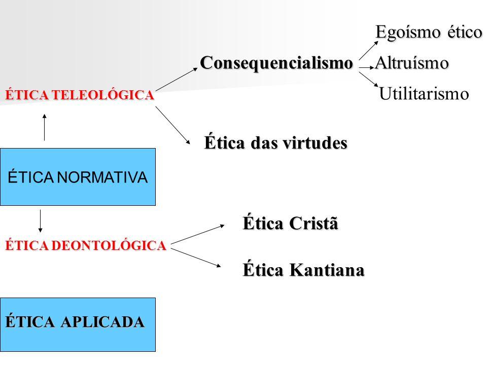 Consequencialismo Altruísmo