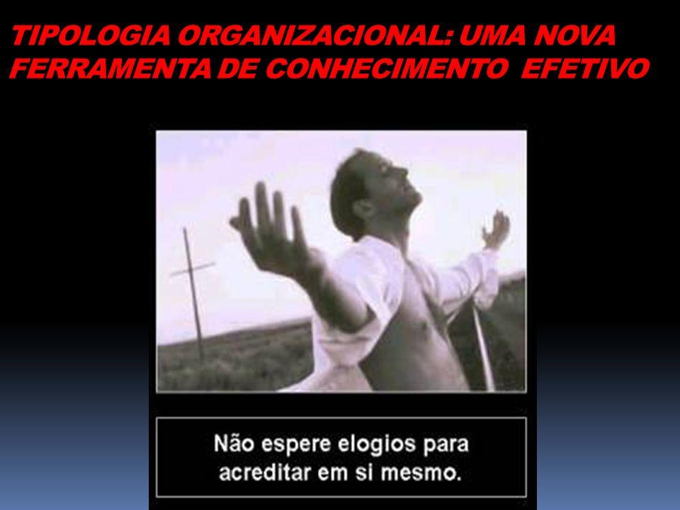 TIPOLOGIA ORGANIZACIONAL: UMA NOVA FERRAMENTA DE CONHECIMENTO EFETIVO