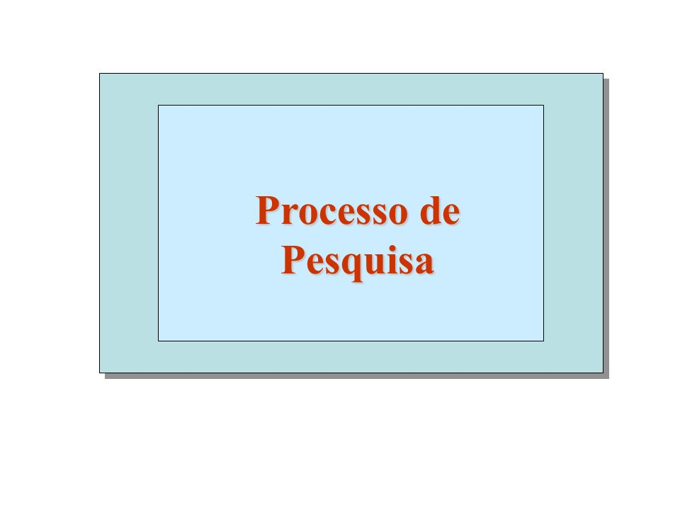 Processo de Pesquisa 1 1
