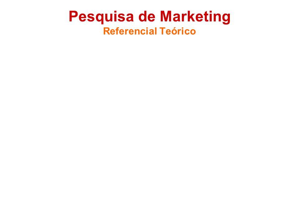 Pesquisa de Marketing Referencial Teórico