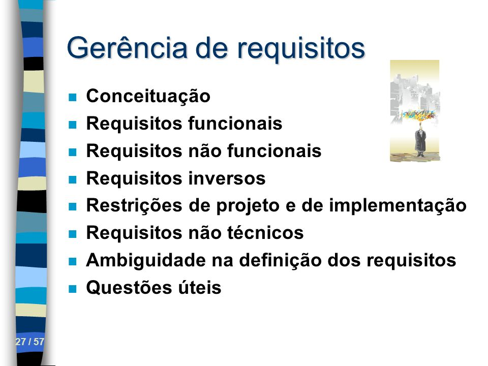 Gerência de requisitos
