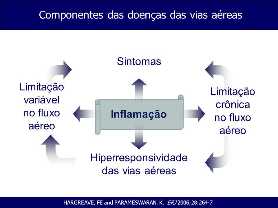 Componentes das doenças das vias aéreas