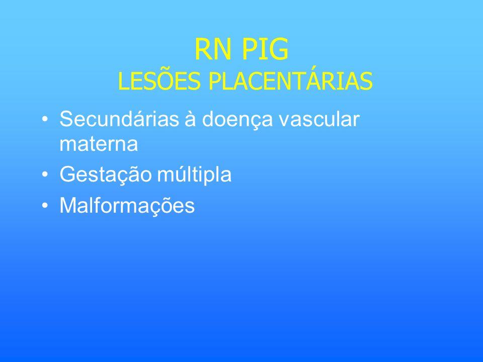 RN PIG LESÕES PLACENTÁRIAS