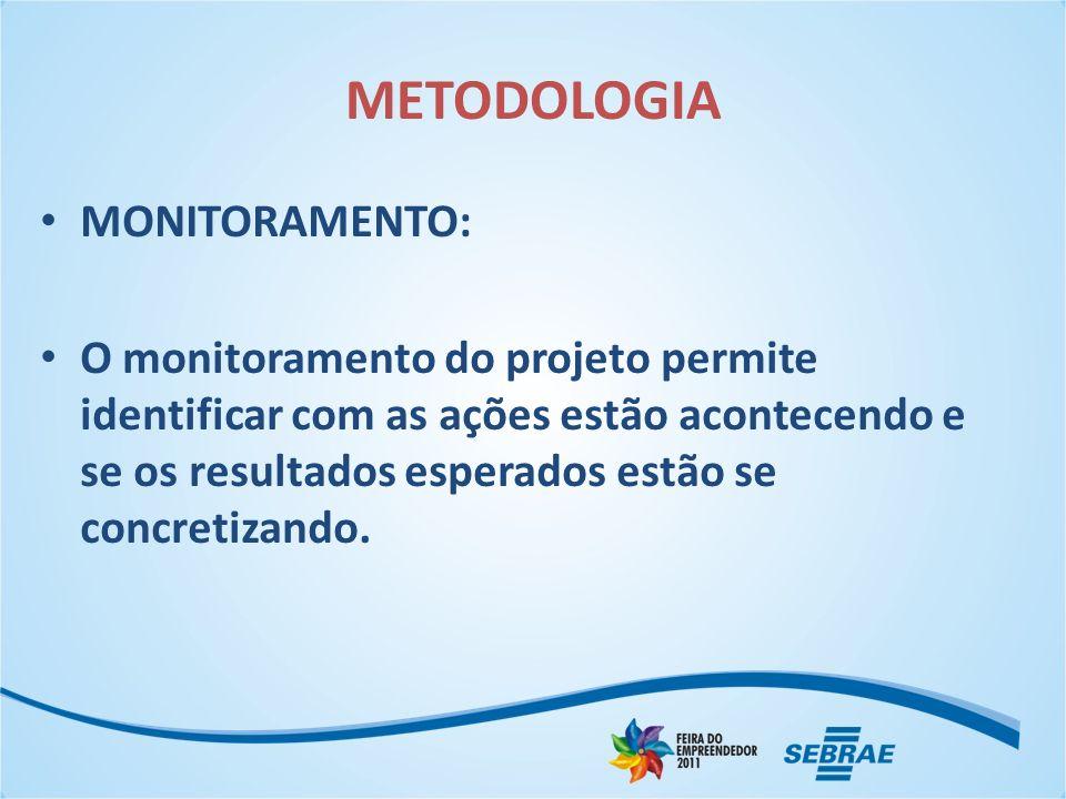 METODOLOGIA MONITORAMENTO: