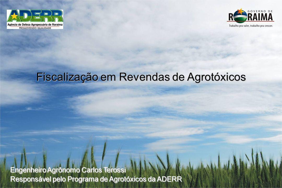 Fiscalização em Revendas de Agrotóxicos