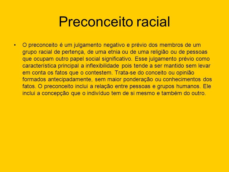Preconceito racial