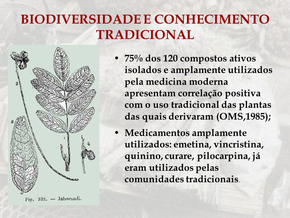 BIODIVERSIDADE E CONHECIMENTO TRADICIONAL