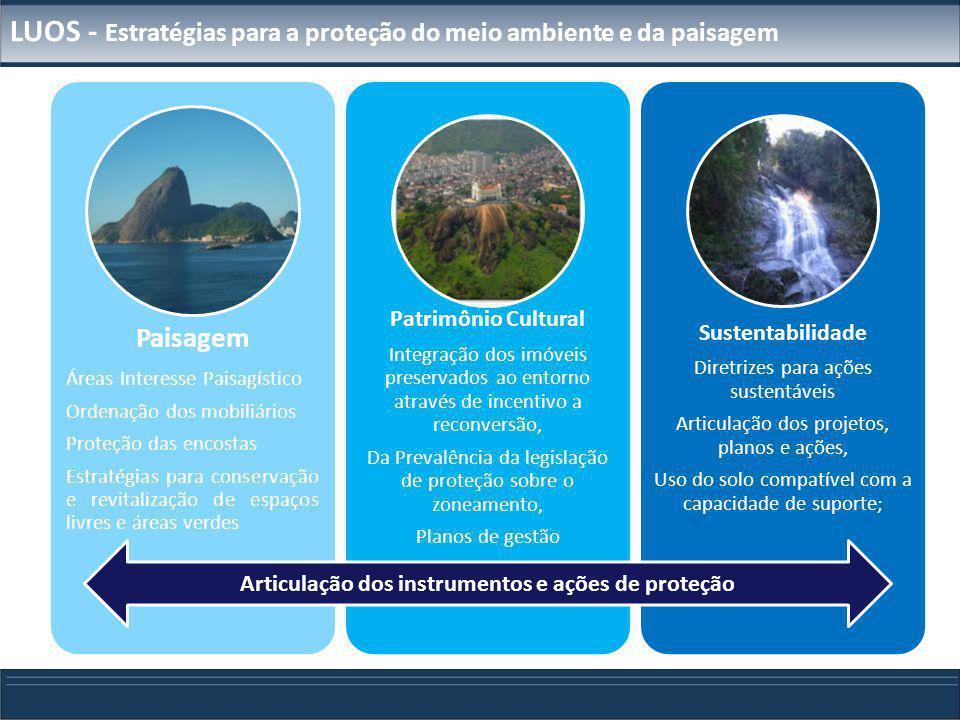 LUOS - Estratégias para a proteção do meio ambiente e da paisagem