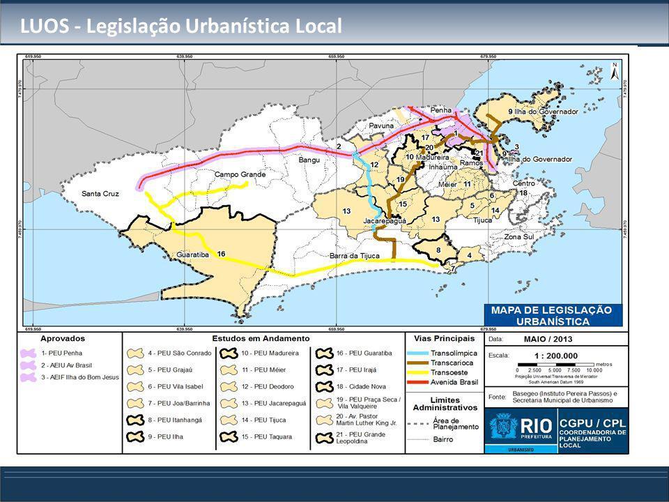 LUOS - Legislação Urbanística Local