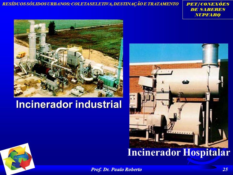 Incinerador industrial Incinerador Hospitalar